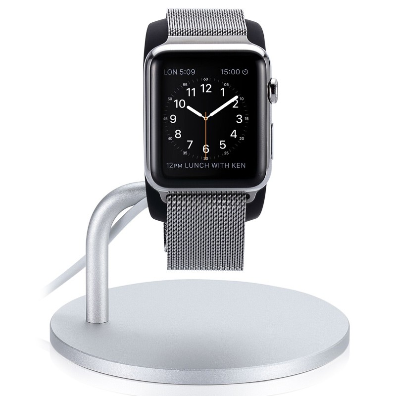 Just Mobile - Lounge Dock standaard voor Apple Watch 04
