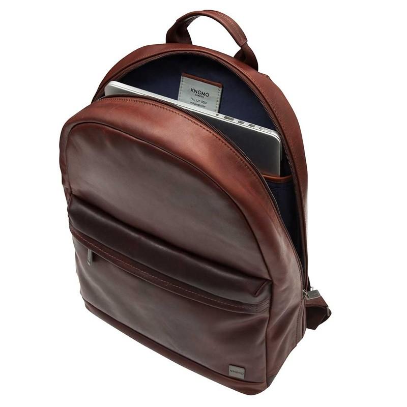Knomo - Barbican Albion 15 inch Laptop Rugzak Black 03