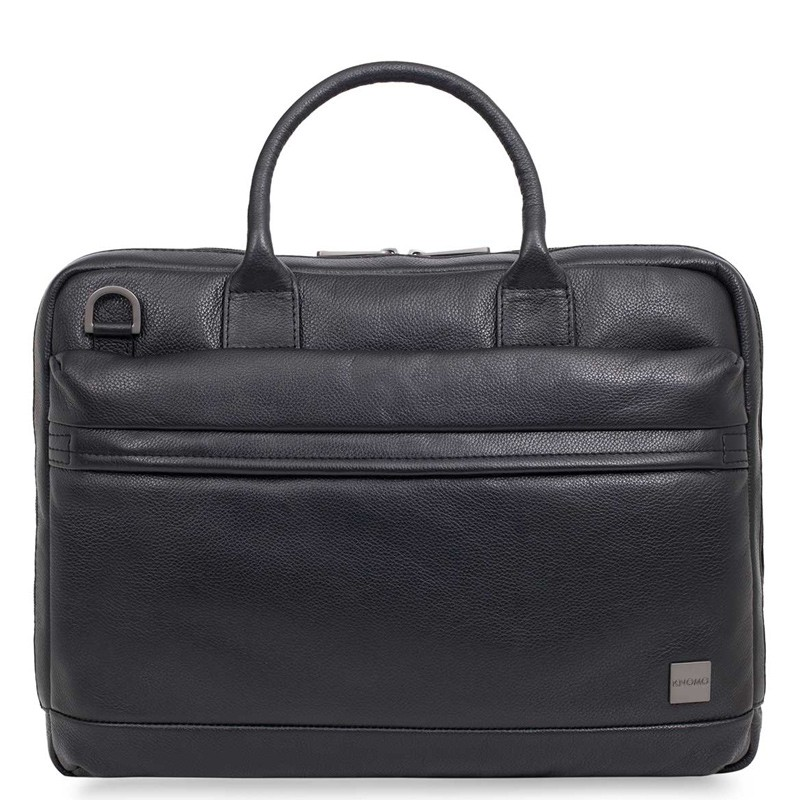 Knomo - Barbican Foster 14 inch Laptoptas Black 02