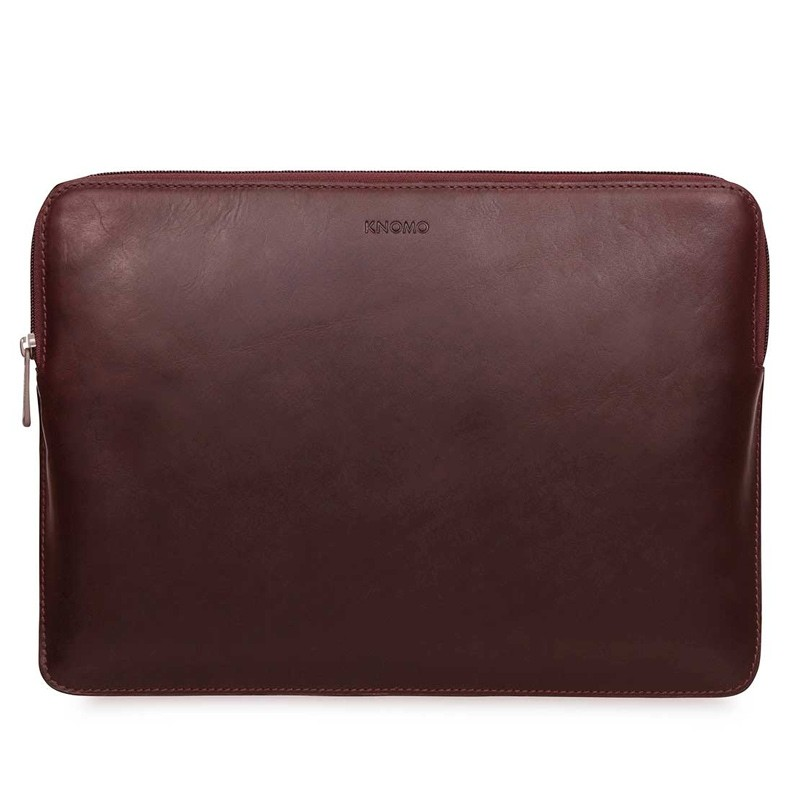 Knomo - Barbican Sleeve 15 inch Brown 01
