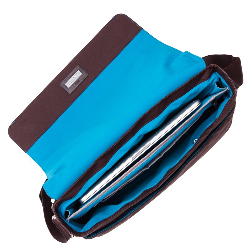 Knomo - Bungo 15,6 inch Laptop Messenger Brown 05