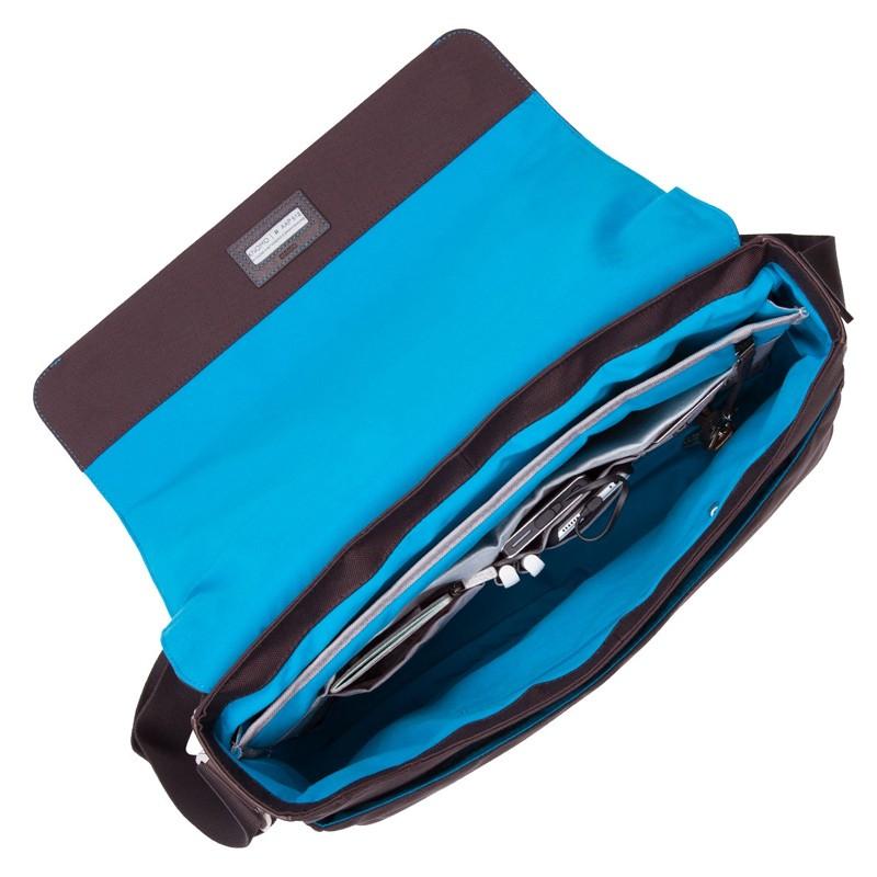 Knomo - Bungo 15,6 inch Laptop Messenger Brown 03