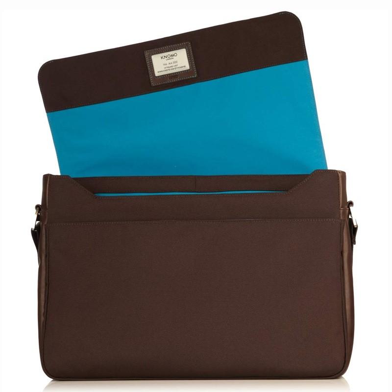 Knomo - Bungo 15,6 inch Laptop Messenger Brown 04