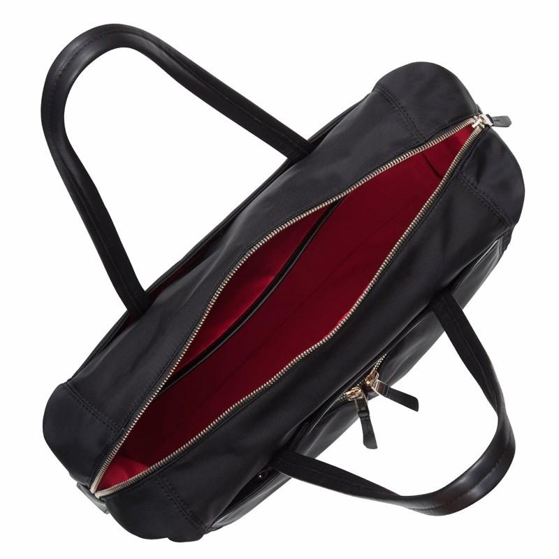 Knomo - Curzon 15 inch Laptop Schoudertas Black 05