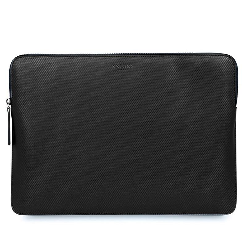 Knomo - Embossed Laptop Sleeve 13 inch Black 0
