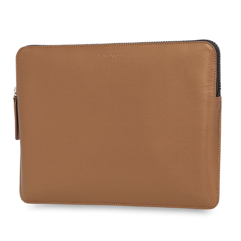 Knomo - Embossed Laptop Sleeve 13 inch Bronze 02