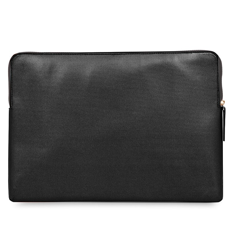 Knomo - Embossed Laptop Sleeve 15 inch MacBook Pro Black 06