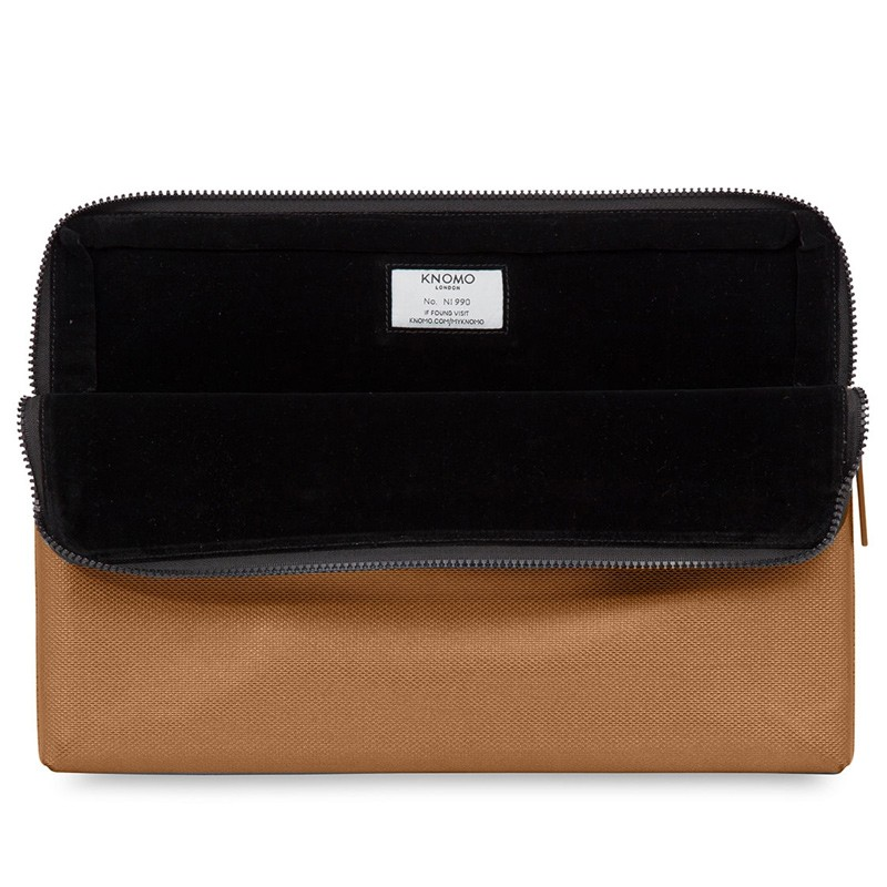 Knomo - Embossed Laptop Sleeve 15 inch MacBook Pro Bronze 04