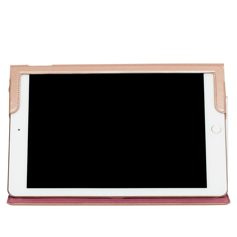 Knomo - Full Wrap Folio hoes voor iPad Pro 9,7 inch Rose Gold 05
