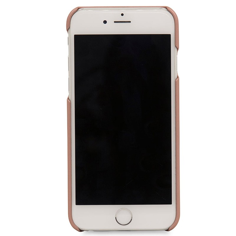 Knomo - Leather Snap On Hoes iPhone 7 Silver Rose Gold 04