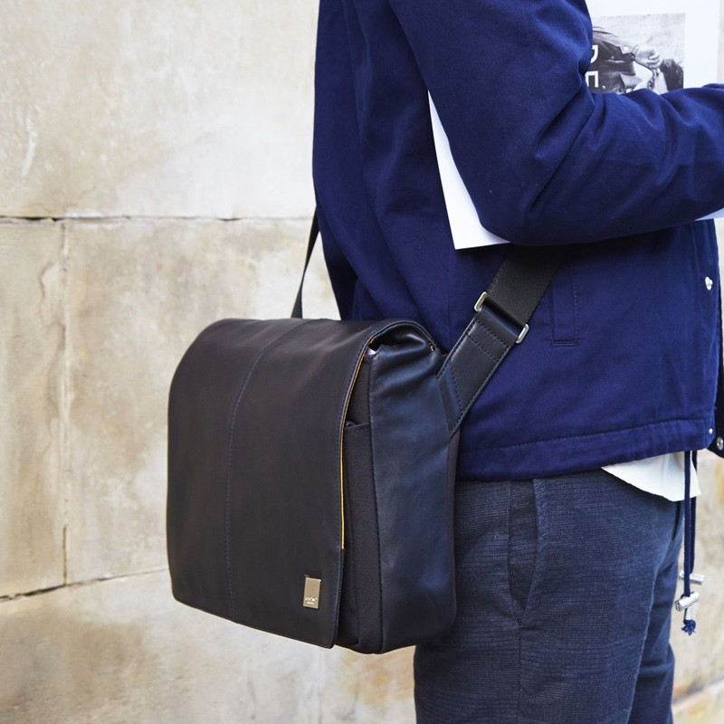 Knomo - Kinsale 13 inch Laptop Messenger Black 08