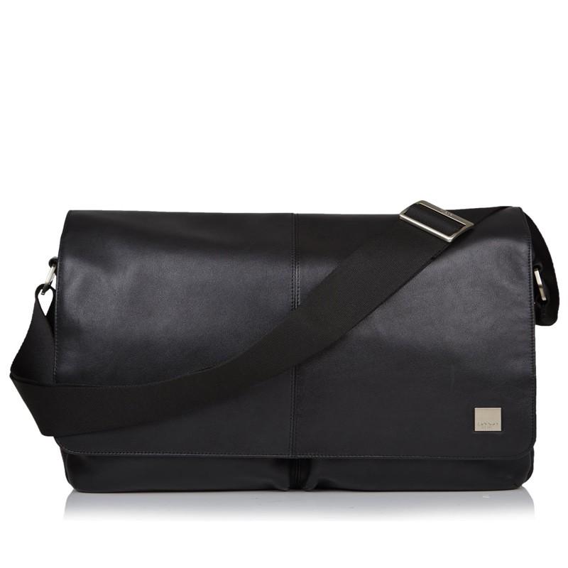 Knomo - Kobe 15 inch Laptop Messenger Black 02