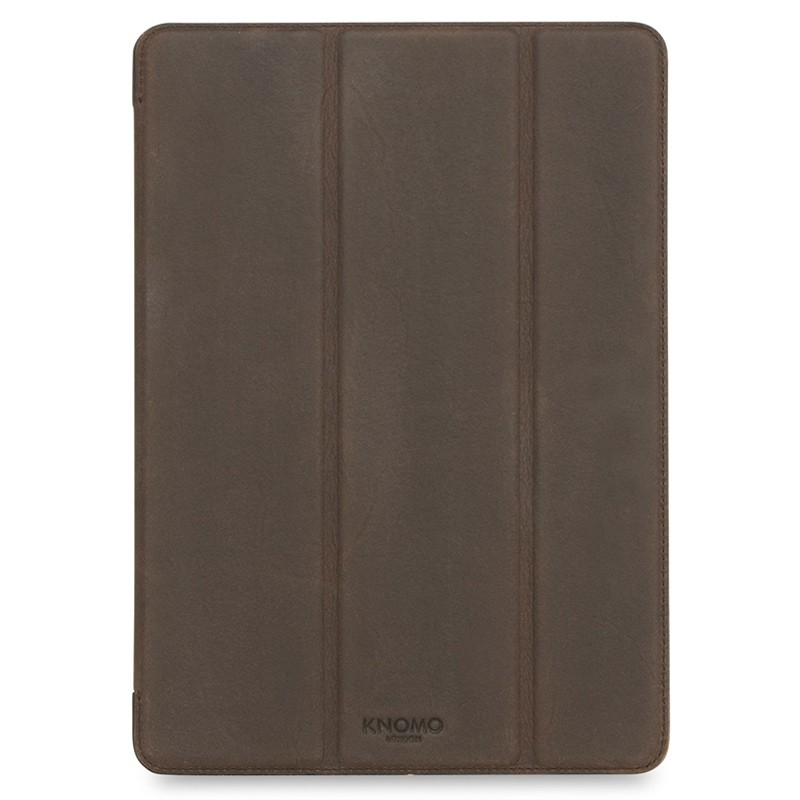 Knomo - Leather Folio iPad Pro 9,7 inch Brown 01