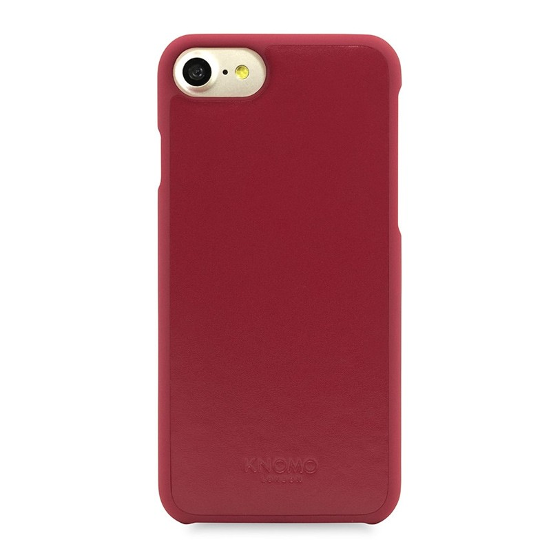 Knomo Leather Snap On Hoes iPhone 7 Chili 02