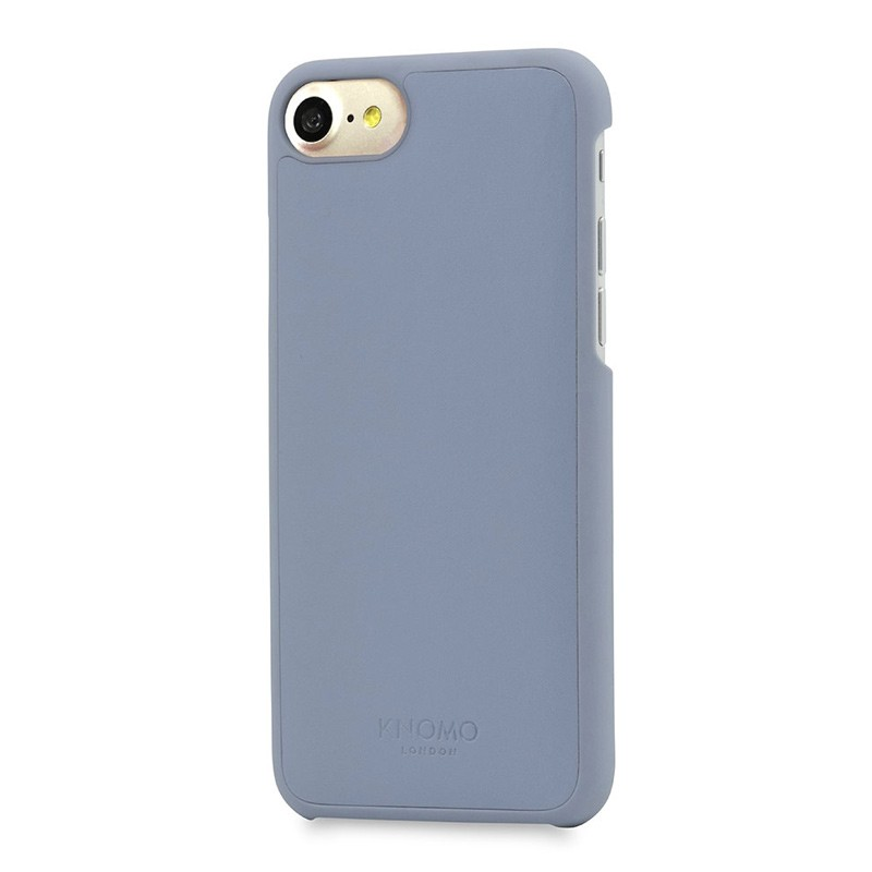 Knomo Leather Snap On Hoes iPhone 7 Lido Purple 01