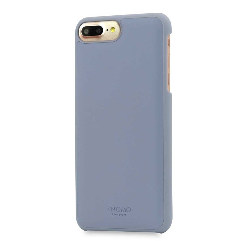 Knomo Leather Snap On Hoes iPhone 7 Plus Lido Purple 01