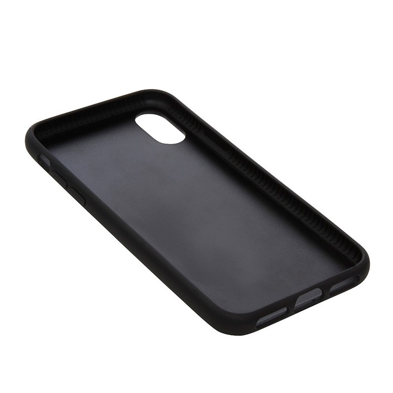 Knomo Leather Snap On Case iPhone X Black - 4