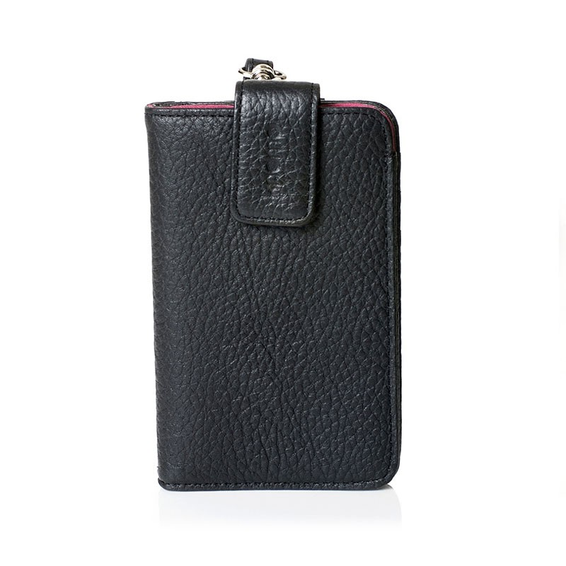 Knomo Wristlet iPhone Black 1