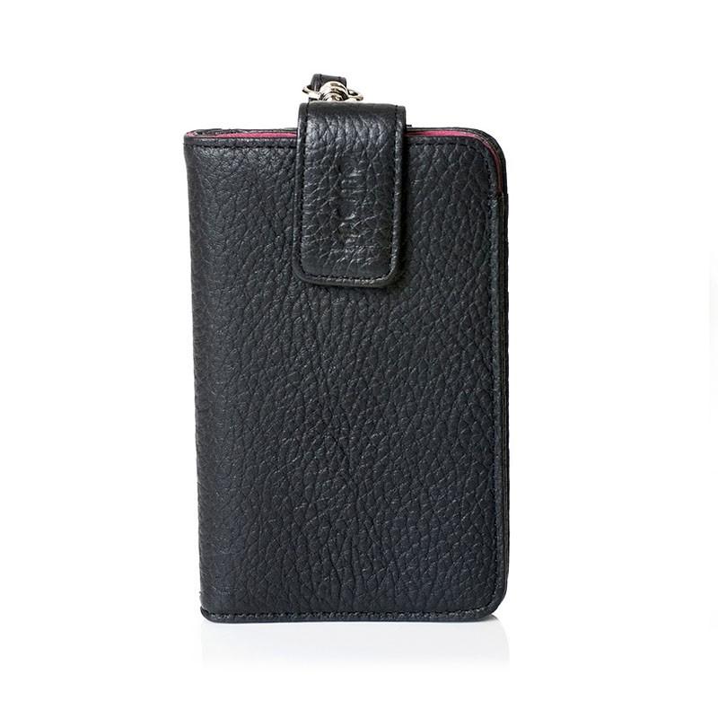 Knomo Wristlet iPhone Black 1