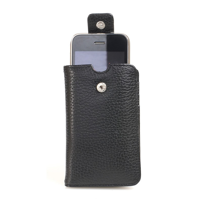 Knomo Wristlet iPhone Black 2