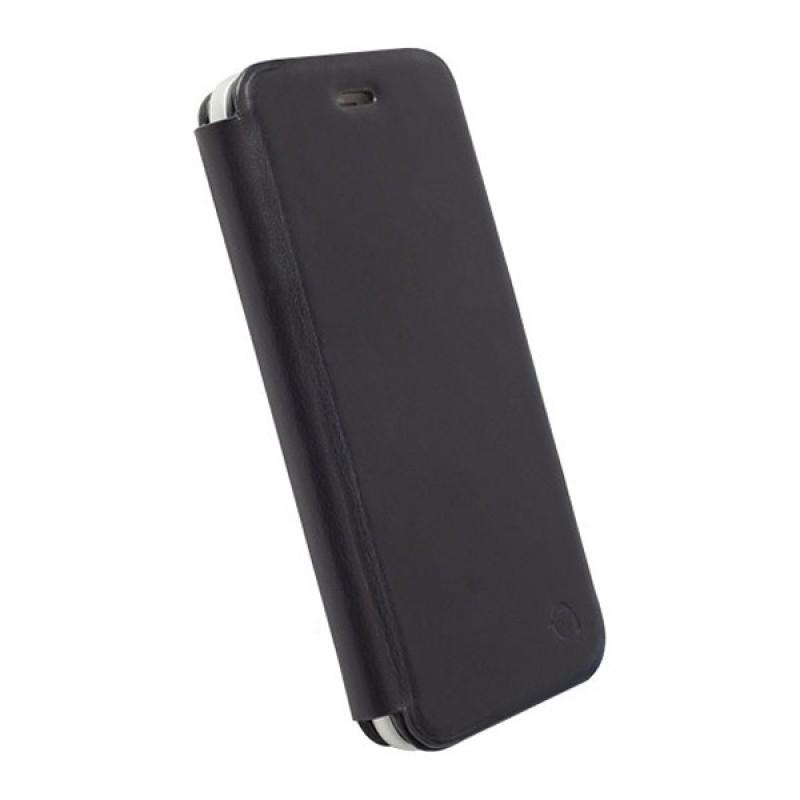 Krusell  Kiruna Leather BookCover iPhone 6 Black - 2