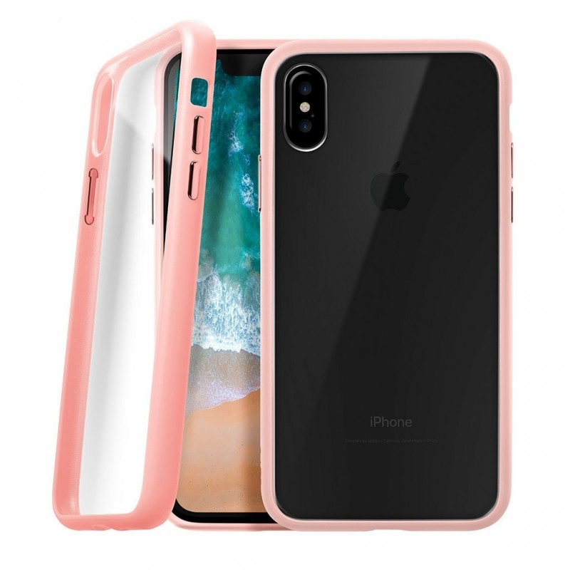 LAUT Accents iPhone X/Xs Nude Pink/Clear - 1