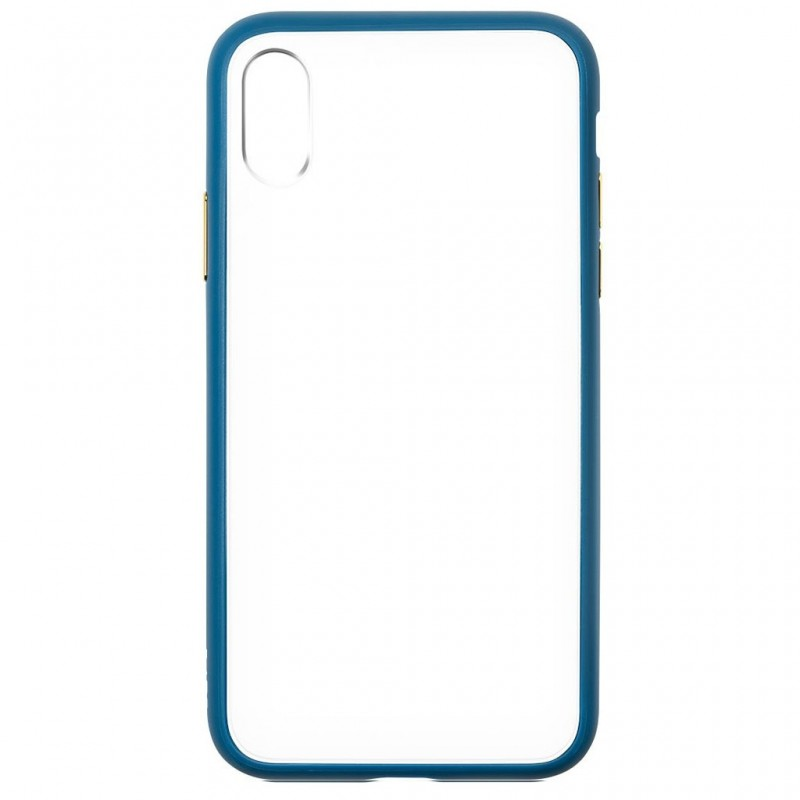 LAUT Accents iPhone X Petrol Blue/Clear - 4