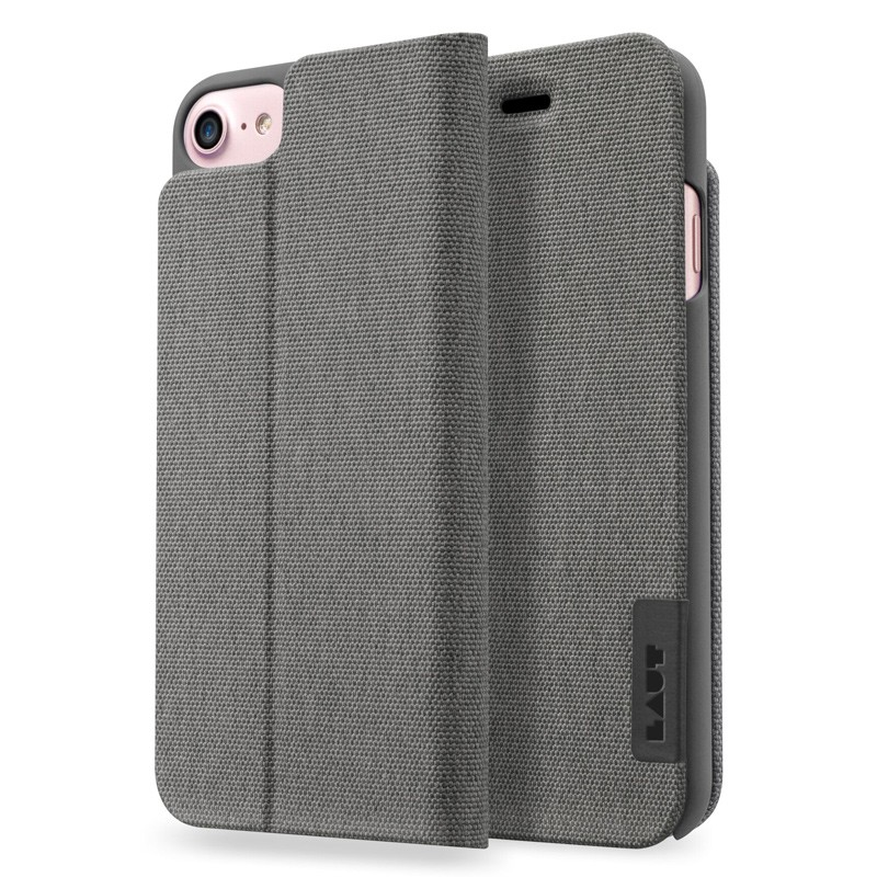 LAUT Apex Knit iPhone 7 Granite Grey 01
