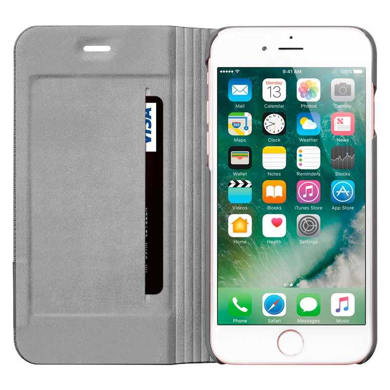 LAUT Apex Knit iPhone 7 Granite Grey 06
