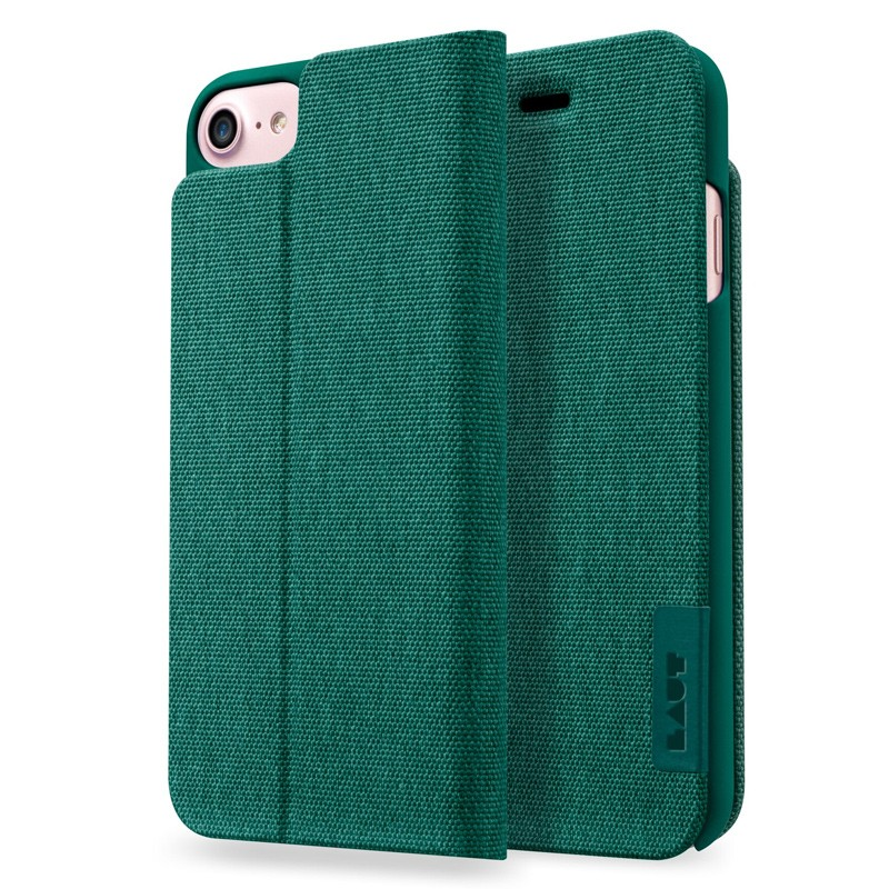 LAUT Apex Knit iPhone 7 Plus Green 01