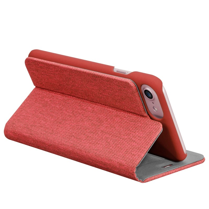 LAUT Apex Knit iPhone 7 Plus Red 08