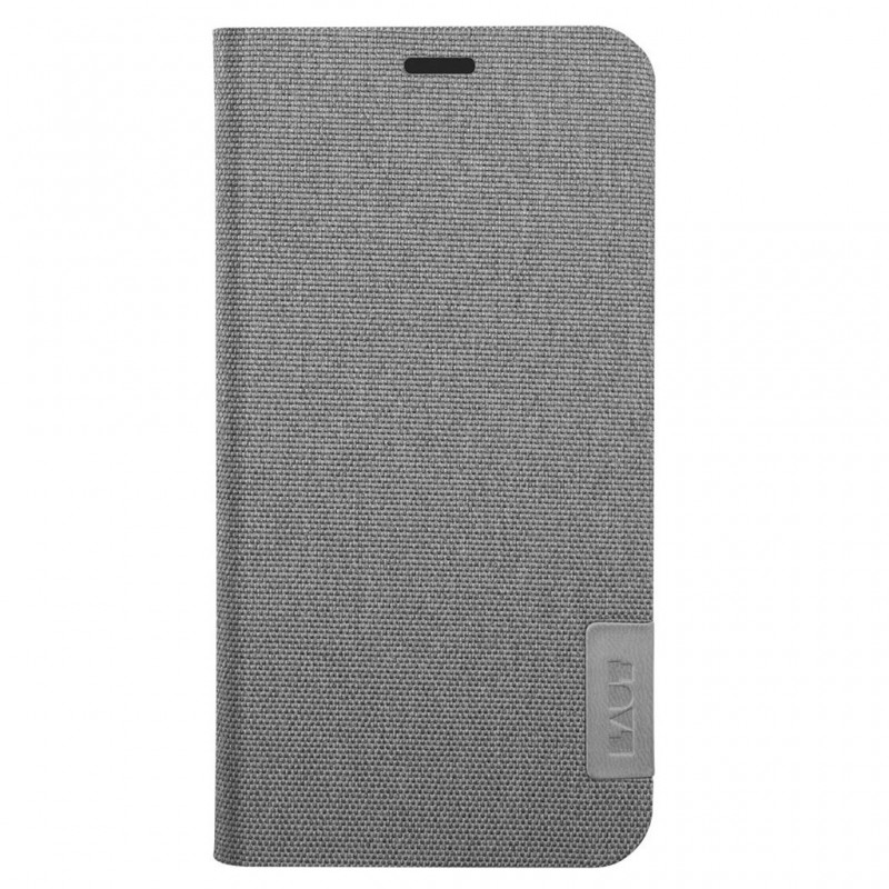 LAUT Apex Knit iPhone X/Xs Wallet Granite Grey - 2