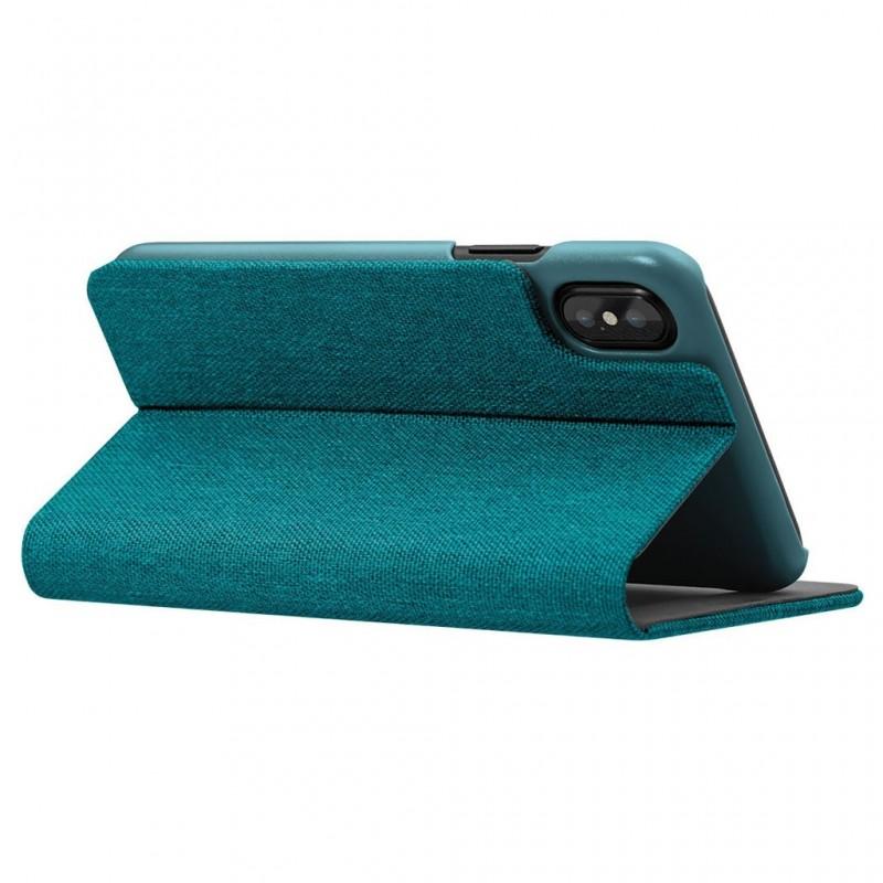 LAUT Apex Knit iPhone X/Xs Wallet Jade Green - 5