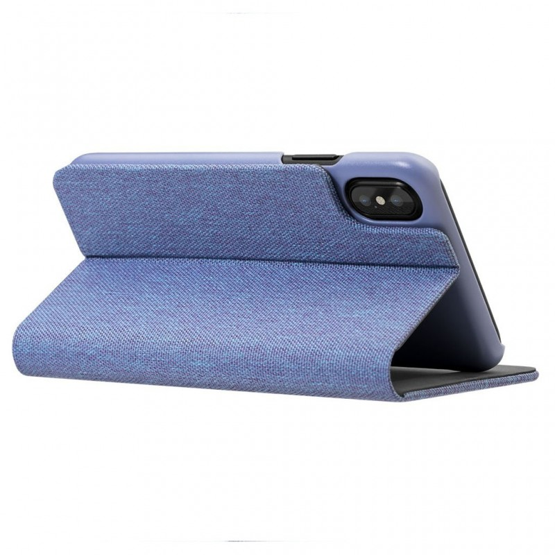 LAUT Apex Knit iPhone X/Xs Wallet Violet Purple - 5