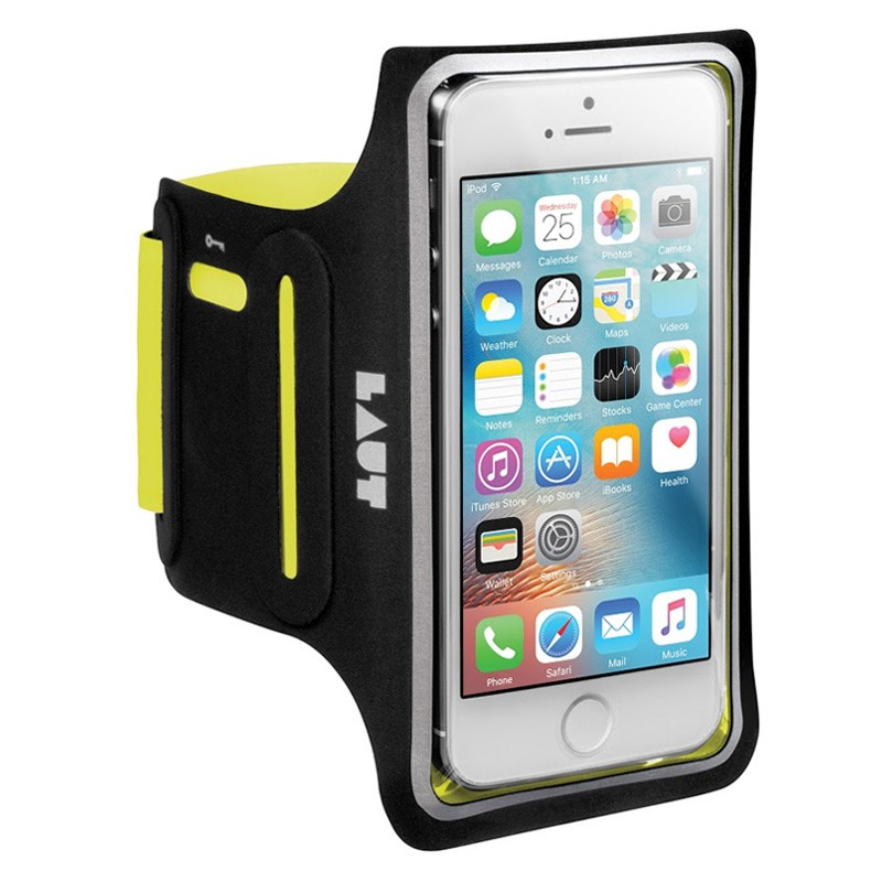 LAUT Elite-LD Sport Armband iPhone SE / 5S / 5 Yellow - 1
