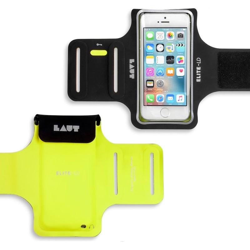 LAUT Elite-LD Sport Armband iPhone SE / 5S / 5 Yellow - 2