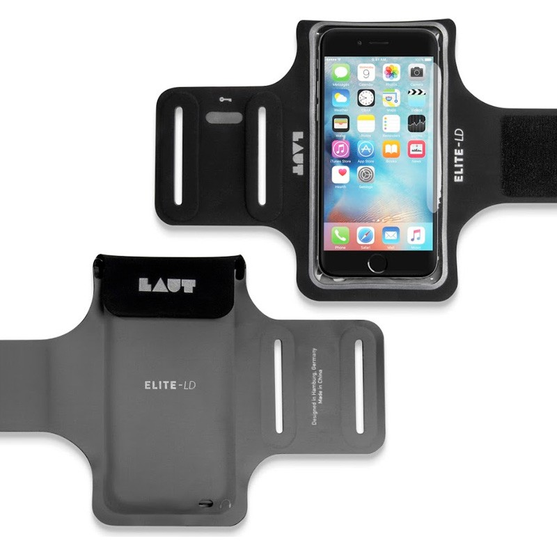 LAUT Elite-LD Sport Armband iPhone 6 / 6S Black - 2