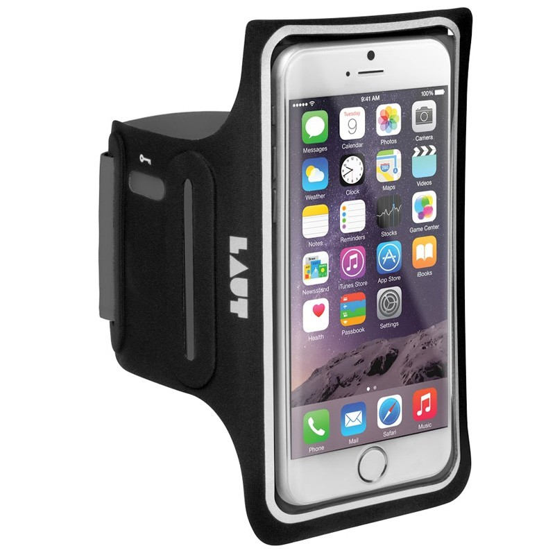 LAUT Elite-LD Sport Armband iPhone 6 Plus / 6S Plus Black - 1