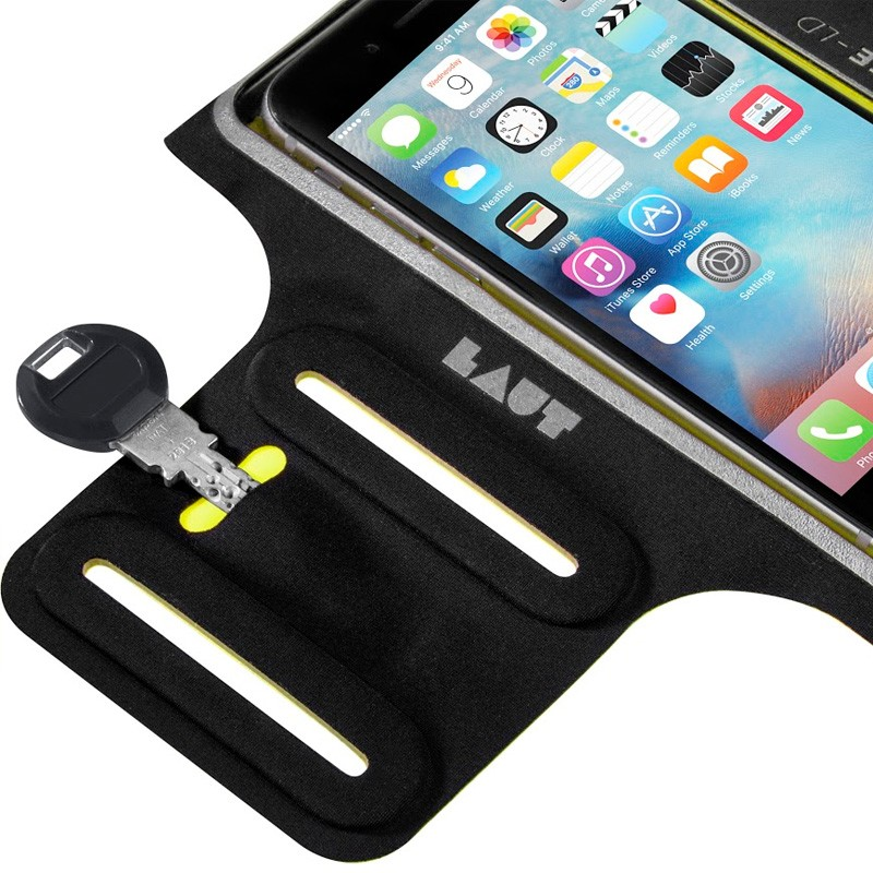 LAUT Elite-LD Sport Armband iPhone 6 Plus / 6S Plus Yellow - 3