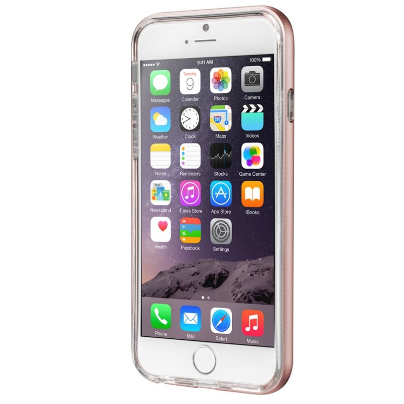 LAUT Exo Frame iPhone 6 / 6S Rose Gold - 2