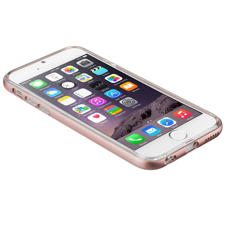 LAUT Exo Frame iPhone 6 / 6S Rose Gold - 4