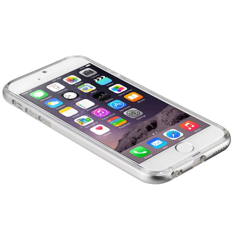 LAUT Exo Frame iPhone 6 / 6S Silver - 4