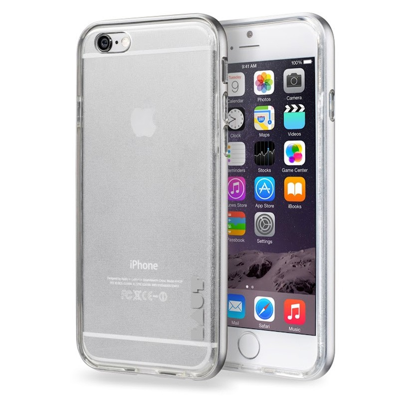 LAUT Exo Frame iPhone 6 Plus / 6S Plus Silver - 1