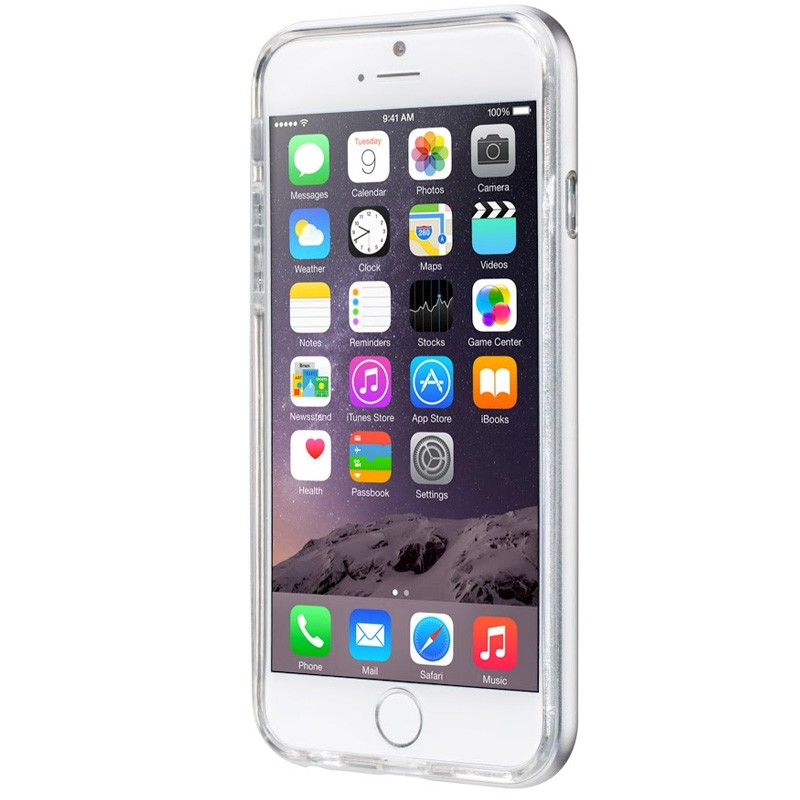 LAUT Exo Frame iPhone 6 Plus / 6S Plus Silver - 2
