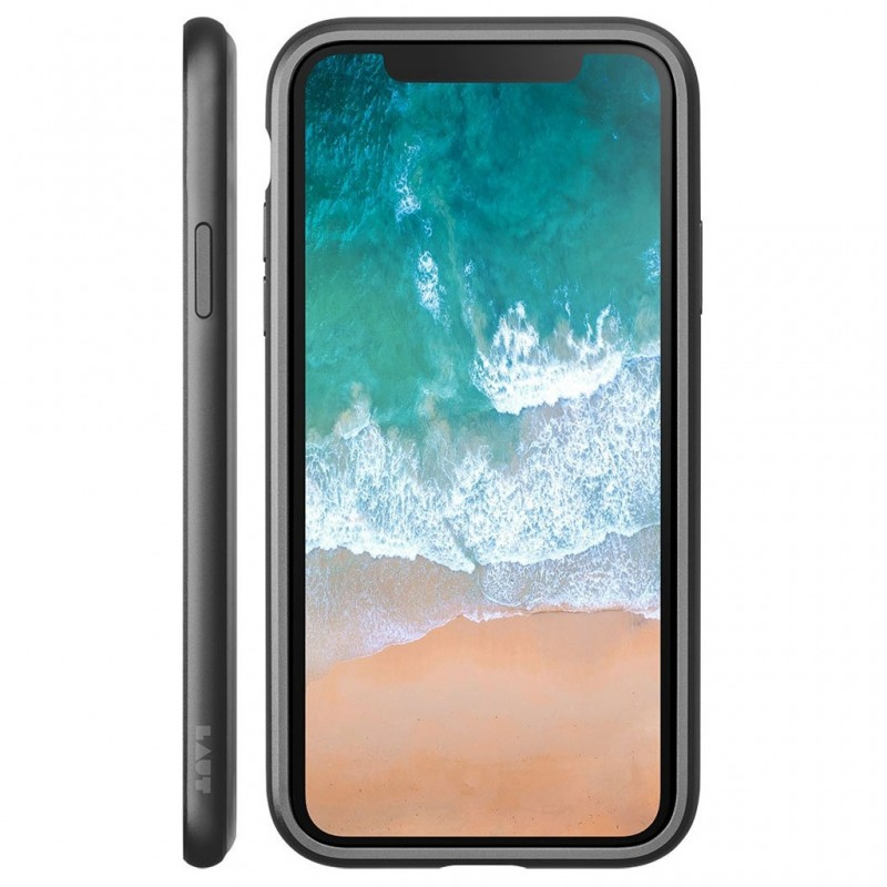 LAUT Exo Frame iPhone X/Xs Gun Metal - 2