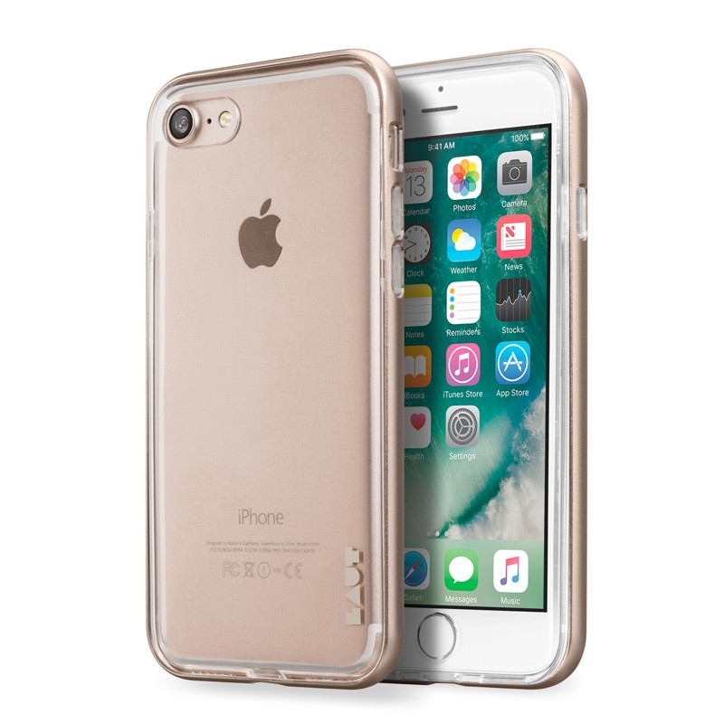 LAUT Exo Frame iPhone 7 Plus Gold 01