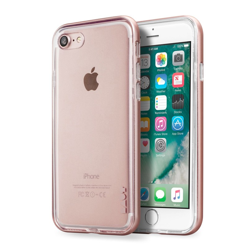 LAUT Exo Frame iPhone 7 RoseGold 01