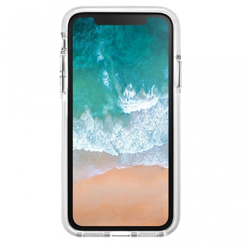 LAUT Fluro IMPKT Case iPhone X White/Clear - 2
