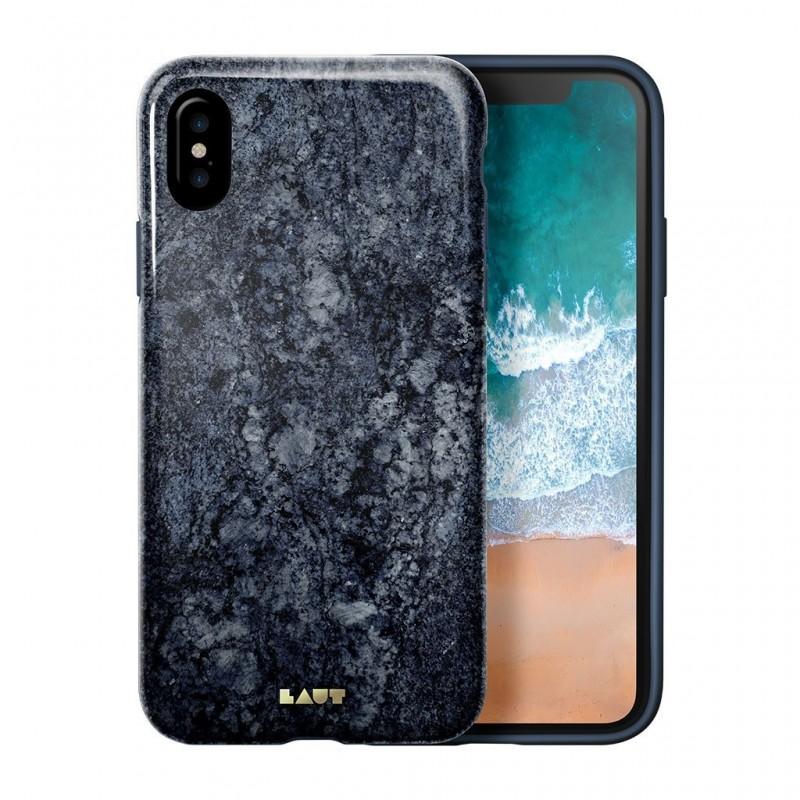 LAUT Huex Metallics iPhone X Blue Marble - 1