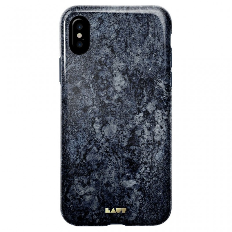 LAUT Huex Metallics iPhone X/Xs Blue Marble - 2